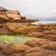 Atlantic ocean coast in Brittany — Stock Photo #55994519