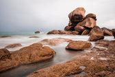 Atlantic ocean coast in Brittany — Stock Photo