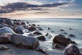 Камни на Балтийском море — Стоковое фото