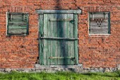 Detail of a house — Stock Photo