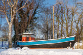 Fishing boat  in Zingst — Stock Photo