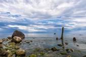 バルト海の海岸に捨て子 — ストック写真