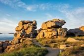 Felsen in der Bretagne — Stockfoto