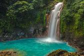 Beautiful Rio Celeste Waterfall — Stock Photo