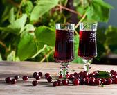Cherry brandy  — Stock Photo