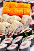 Appetizing Japanese sushi  — Stock Photo