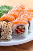 Sushi japonês — Fotografia Stock