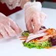 Table with seafood — Stock Photo #57585427