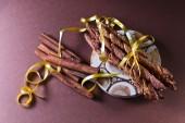 Cookies with cinnamon — Stock Photo