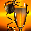 Glass with champagne — Stock Photo #60371349