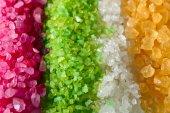 flavoured sea salt — Stock Photo