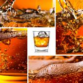 Detail of an alcoholic drink — Stock Photo