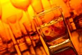 Whiskey withl ice  — 图库照片