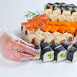 Table with sushi — Stock Photo #74439997
