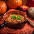 Gourmet hearty goulash soup — Stock Photo #53130407