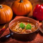 Gourmet hearty goulash soup  — Stock Photo #53130425