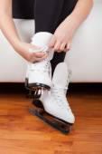 Skater wearing skates — Stock Photo