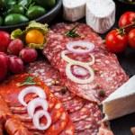 Antipasto dinner platter — Stock Photo #63585749