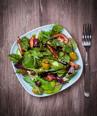Mixed low calorie salad — Stock Photo