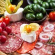 Appetizers platter — Stock Photo #76067667