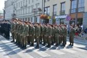 波兰军队的一天 — 图库照片