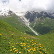 Caucasus mountains in summer — Stock Photo #68617191