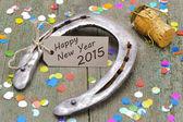 Nuevo año 2015 — Foto de Stock