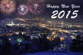 New year 2015 — Stock Photo