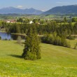 Panorama landscape in Bavaria — Stock Photo #53368331