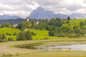 Panorama landscape in Bavaria — Stock Photo