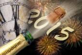 Nieuwjaar 2015 — Stockfoto