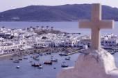 Island Mykonos in Greece — Stock Photo