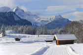 Panorama manzara bavyera — Stok fotoğraf