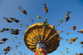 Carousel at Oktoberfest in Munich — Stock Photo