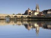 German city Regensburg — Stock Photo