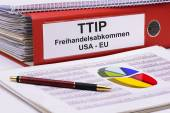 TTIP and CETA agreement — Zdjęcie stockowe