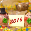 Happy new year 2016 — Stock Photo #68113021
