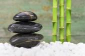 Japanse Zen-tuin met feng shui — Stockfoto