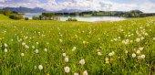 Panorama pejzaż w Bawarii — Zdjęcie stockowe