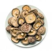 сушеные грибы шиитаке — Стоковое фото