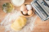 Raw dough — Stock Photo