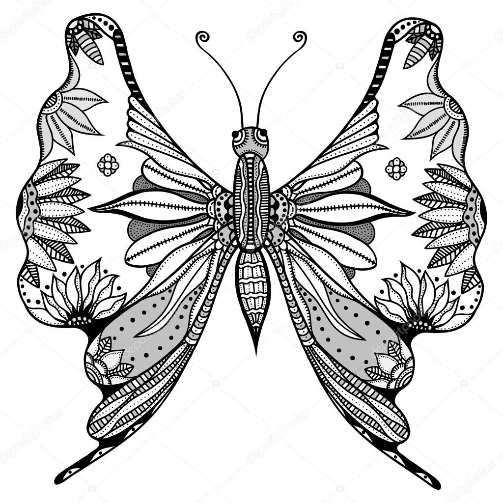 Insect Coloring Pages Adults