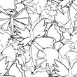 Cute doodle seamless pattern made of butterflies  — Stock Vector #65035815