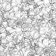 Seamless pattern. Set of confectionery — Stockvector  #69892953