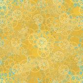 Seamless rusty cogwheel pattern — Stock Vector