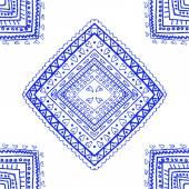 Blue seamless pattern — Stock Vector