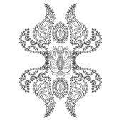 Rosette ornament. — Stock Vector