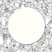 Round paper — Stock Vector