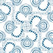 Seamless blue pattern — Stock Vector