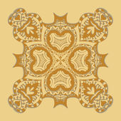 Seamless gold pattern — Stock Vector